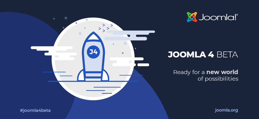 Joomla 4 Beta, ready for a new world of possibilities